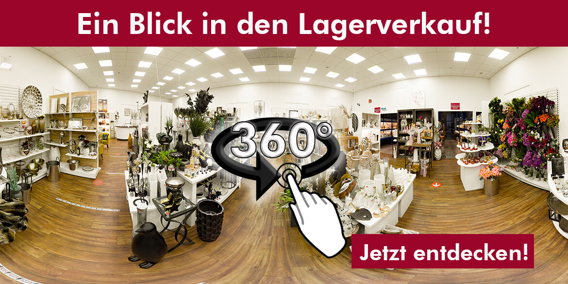 CULT at home Lagerverkauf - 360° Tour