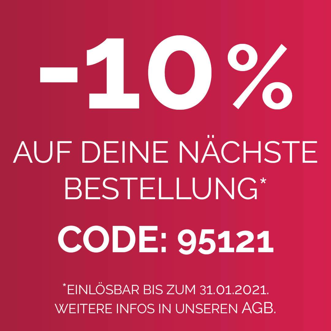 - 10% Rabatt -